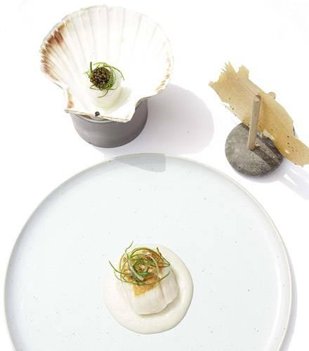 Gastronomic restaurant menus Biot